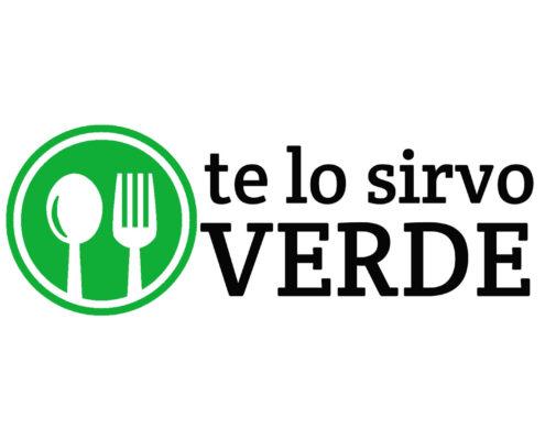 Te lo sirvo verde - Logo